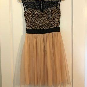 Black/Pink Dress